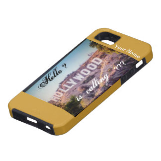 Hollywood is Calling Iphone5 Phone Case