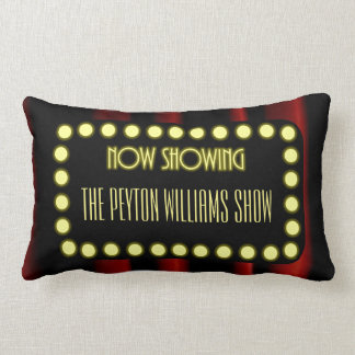 Hollywood Movie Theater Personalized Lumbar Pillow
