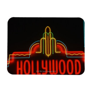 Hollywood neon sign, Los Angeles, California Magnet