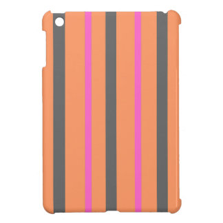 Hollywood Orange Stripes Case For The iPad Mini