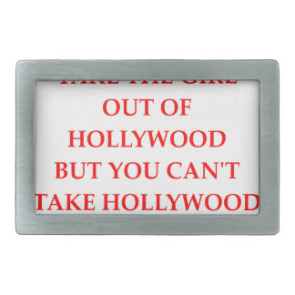HOLLYWOOD RECTANGULAR BELT BUCKLES
