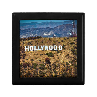 Hollywood Sign Iconic Mountains Los Angeles Gift Box