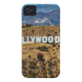 Hollywood Sign Iconic Mountains Los Angeles iPhone 4 Case-Mate Cases