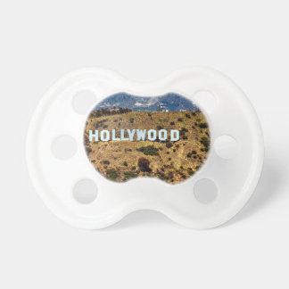Hollywood Sign Iconic Mountains Los Angeles Pacifier