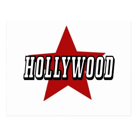 HOLLYWOOD Star Postcard