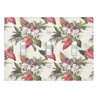 Hollywood Tropical Light Switch Cover