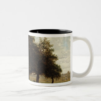 Holm Oaks, Apremont, 1850-52 Two-Tone Coffee Mug