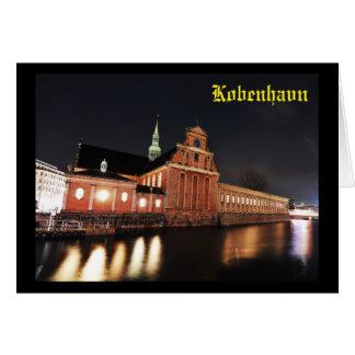Holmens Church (Kirke) in Copenhagen, Denmark Card