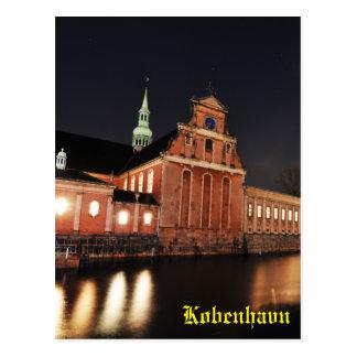 Holmens Church (Kirke) in Copenhagen, Denmark Postcard