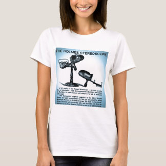 Holmes Stereoscope Advertisement (Cyanotype) T-Shirt