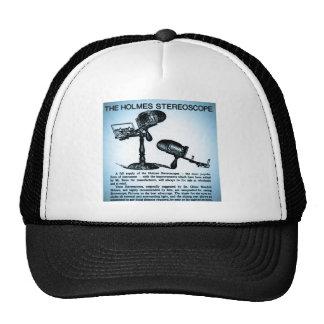 Holmes Stereoscope Advertisement (Cyanotype) Trucker Hat