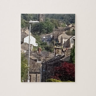 Holmfirth Street Scene Jigsaw Puzzle