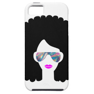 hologram afro girl case for the iPhone 5