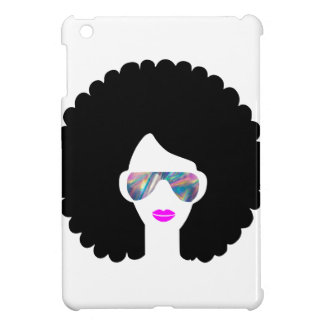 hologram afro girl iPad mini cover