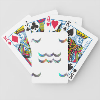 hologram Aquarius Bicycle Playing Cards