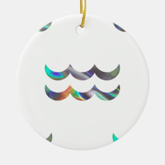 hologram Aquarius Ceramic Ornament
