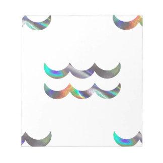 hologram Aquarius Notepad