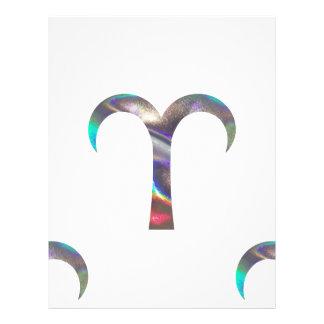 hologram Aries Letterhead