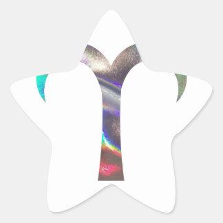 hologram Aries Star Sticker