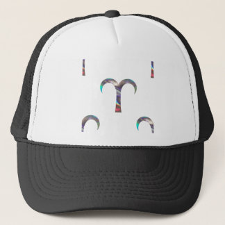 hologram Aries Trucker Hat