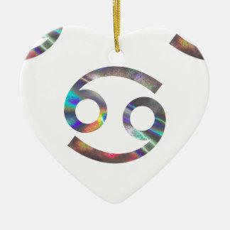 hologram Cancer Ceramic Ornament