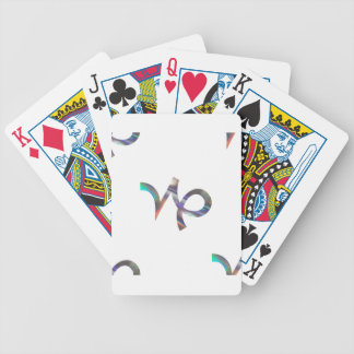 hologram Capricorn Bicycle Playing Cards