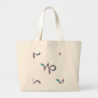 hologram Capricorn Large Tote Bag