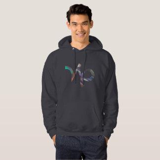 hologram Capricorn mens hoodie hooded sweatshirt