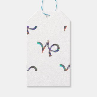 hologram Capricorn Pack Of Gift Tags