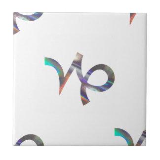 hologram Capricorn Tile