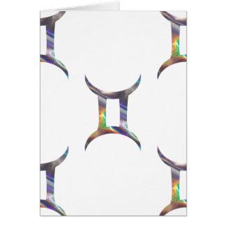 hologram Gemini Card