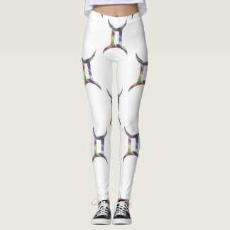 hologram gemini leggings