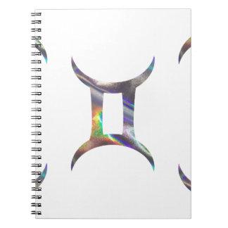 hologram Gemini Notebook