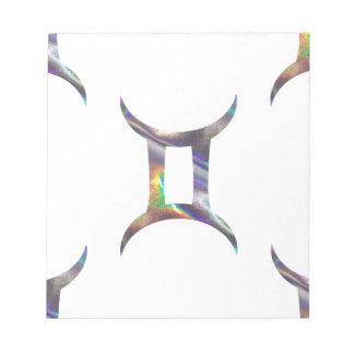 hologram Gemini Notepad