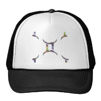 hologram Gemini Trucker Hat
