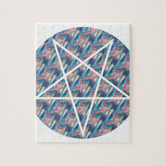hologram pentagram jigsaw puzzle