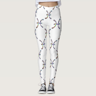 hologram pisces leggings