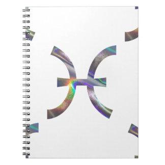 hologram Pisces Notebook
