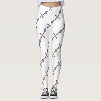 hologram Sagittarius leggings