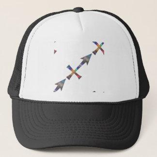 hologram Sagittarius Trucker Hat