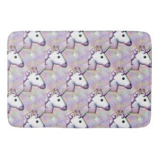 hologram unicorn emoji bathroom bathmat bath mat