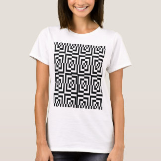 Holographic confused black. T-Shirt