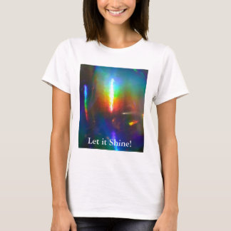 Holographic Flame T-Shirt