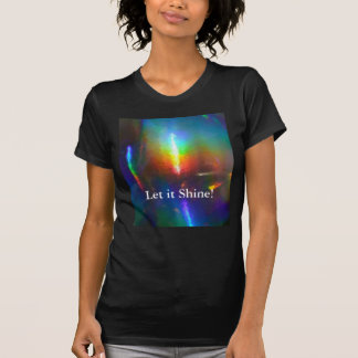 Holographic Flame Tshirts