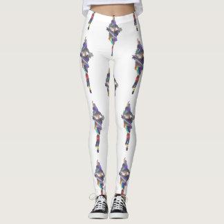 holographic flapper leggings