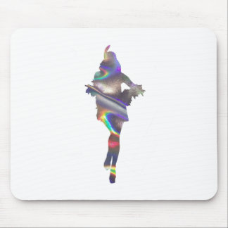 holographic flapper mouse pad