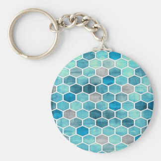 Holographic Honeycomb! Keychain