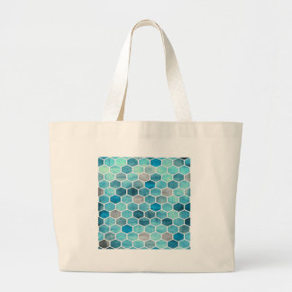 Holographic Honeycomb! Large Tote Bag