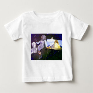 holographic image projected from the time machine baby T-Shirt