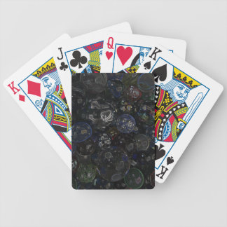 Holographic Marbles Bicycle Playing Cards